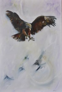 In Pursuit #3 Oil on Canvas 1.5m x 1m